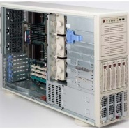 SC748TQ-R1000W (4/8 cpu) 5sATA SCA s SES2, redundant PS,4U/pied
