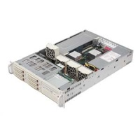 SC822T-R500RC 2U 6sATA SCA, 500W redundant PS