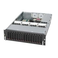 SC933T-R760 3U 15sATA SCA, redundant PS 760W