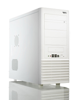 ASUS PC case TA991 White, 4xUSB+aud+mic, 350W, miditower